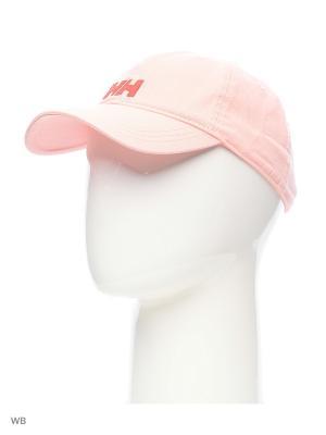 Бейсболка Helly Hansen. Цвет: розовый