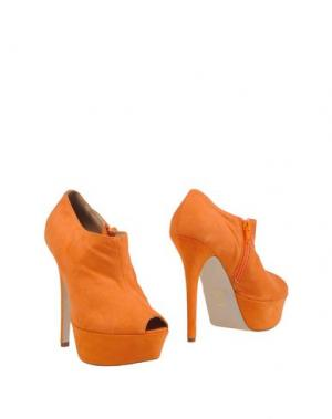 Ботинки ALBERTO MORETTI. Цвет: оранжевый
