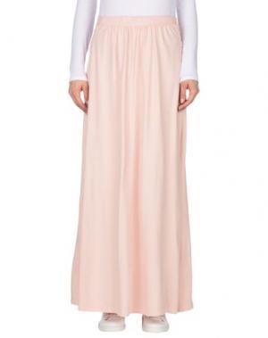 Длинная юбка EMPATHIE. Цвет: розовый