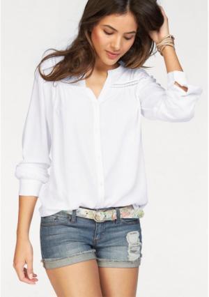 Блузка AJC. Цвет: белый, черный
