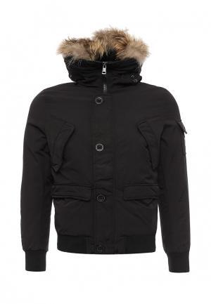 Куртка утепленная Caleb. Цвет: черный
