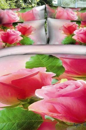 Постельное белье 2 сп, 70х70 DIVA AFRODITA. Цвет: розовый