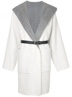 Пальто с большими карманами Jean Paul Knott. Цвет: серый