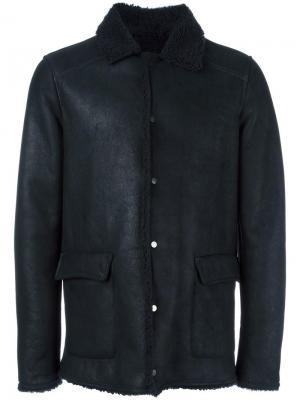 Куртка на пуговицах Salvatore Santoro. Цвет: синий