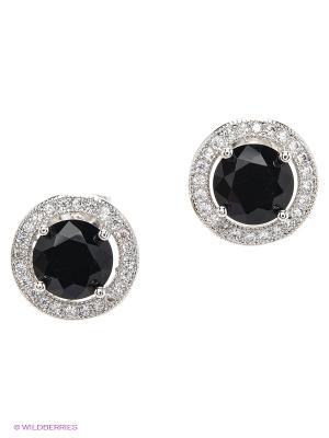 Серьги Royal Diamond. Цвет: черный