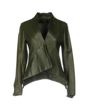 Пиджак ADELE FADO. Цвет: зеленый-милитари