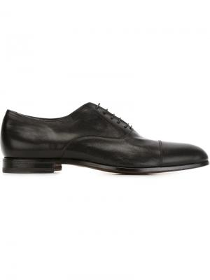 Туфли оксфорды W.Gibbs. Цвет: чёрный