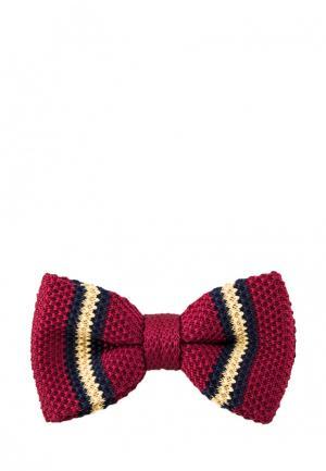 Бабочка Churchill accessories. Цвет: бордовый