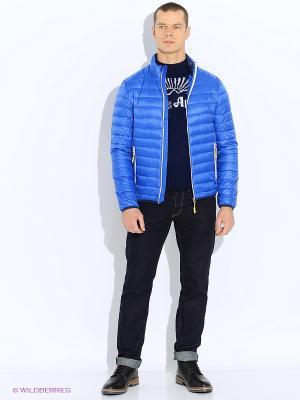 Куртка TOM TAILOR. Цвет: синий, морская волна