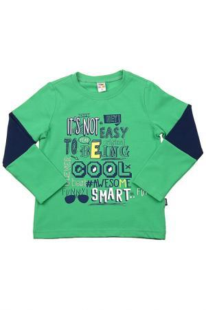 Джемпер MINI-MAXI. Цвет: зеленый