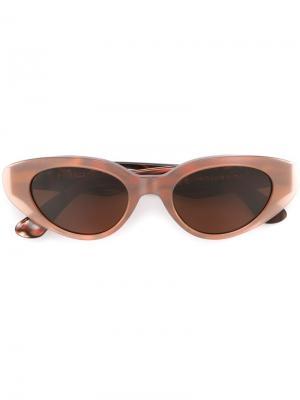 Солнцезащитные очки Ragazza Carusa Retrosuperfuture. Цвет: розовый и фиолетовый