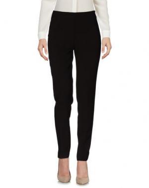 Повседневные брюки BLUKEY. Цвет: темно-коричневый