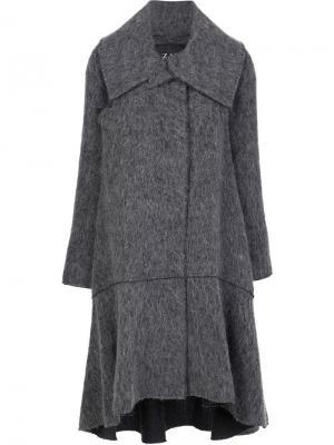 Пальто Delphine Zac Posen. Цвет: серый