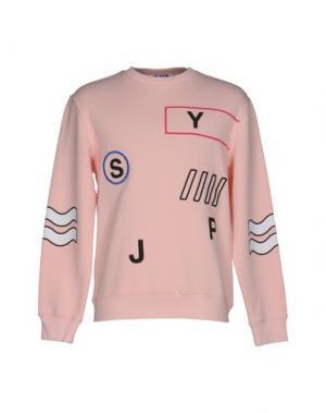 Толстовка SJYP. Цвет: розовый