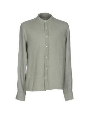 Pубашка D.R SHIRT. Цвет: зеленый-милитари