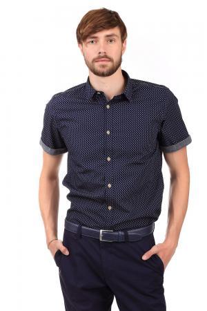 Рубашка с коротким рукавом s.Oliver. Цвет: бежевый