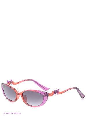 Солнцезащитные очки MOSCHINO. Цвет: красный, сиреневый