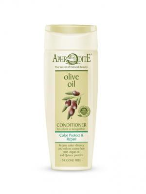 Кондиционер для волос Защита цвета и восстановление Aphrodite. Цвет: оливковый