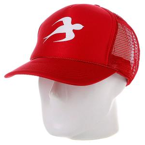 Бейсболка  Solo Red Innes. Цвет: красный