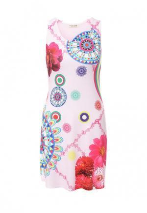 Платье Sweet Lady. Цвет: розовый