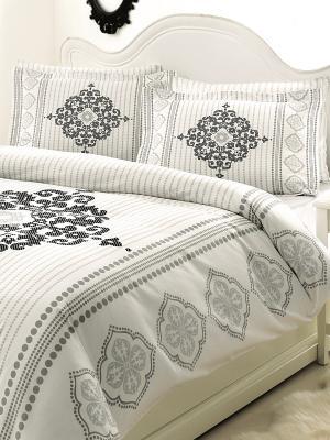 Комплект постельного белья OZDILEK. Цвет: белый