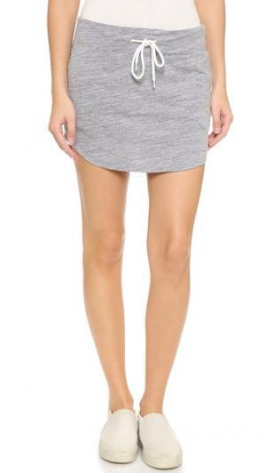 Спортивная юбка Granite Slub MONROW. Цвет: гранит