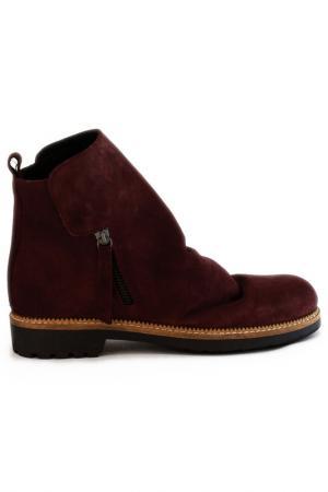 Ботинки Elena. Цвет: бордовый
