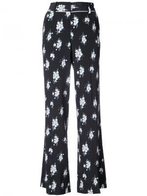 Пижамные брюки с принтом Derek Lam 10 Crosby. Цвет: чёрный