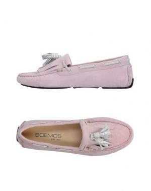 Мокасины BOEMOS. Цвет: светло-розовый
