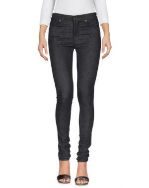 Джинсовые брюки EDWIN. Цвет: черный