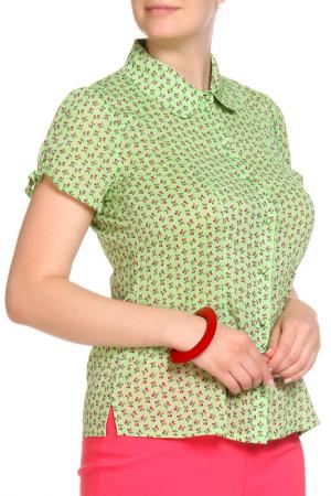 Блуза LOLA PALTINGER. Цвет: зеленый