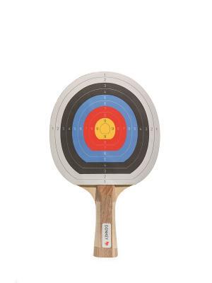 Набор для пинг понга Bulls Eye Donkey. Цвет: черный, белый, желтый, красный, синий