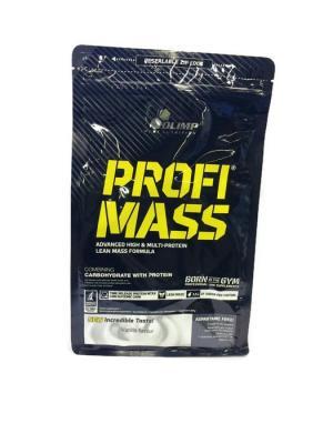 Гейнер Profi Mass (ваниль) 1000 гр Olimp Nutrition. Цвет: черный, белый