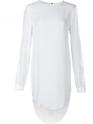 Платье Deep Thomas Wylde. Цвет: белый