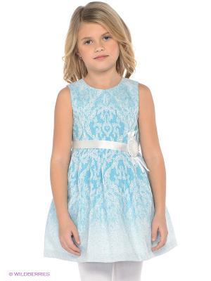 Платье LEMUR. Цвет: голубой