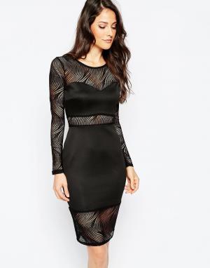Binky Платье For Lipstick Boutique Bayswater. Цвет: черный