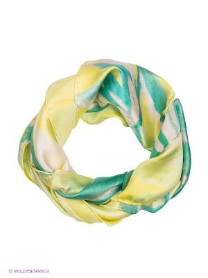 Платок Venera. Цвет: светло-желтый, зеленый, молочный