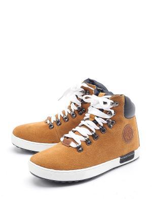 Ботинки TF. Цвет: желтый