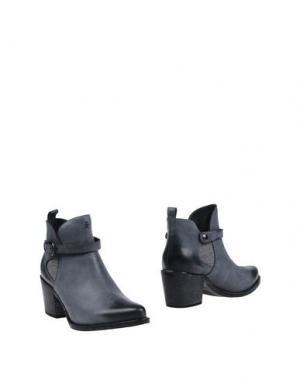 Полусапоги и высокие ботинки HENRY BEGUELIN. Цвет: серый