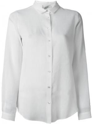 Классическая рубашка Forte. Цвет: белый