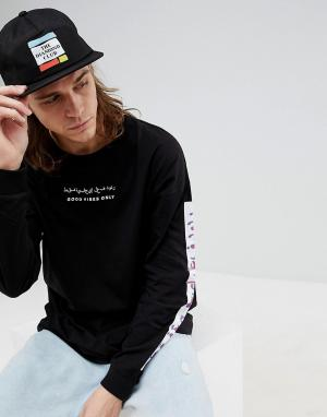 Diamond Supply 5-панельная кепка Members Club. Цвет: черный
