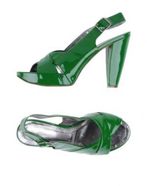 Сандалии ALLUMINIO. Цвет: зеленый
