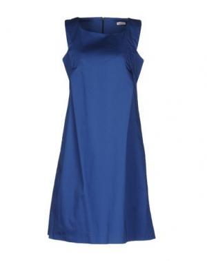 Короткое платье ROSSOPURO. Цвет: темно-синий