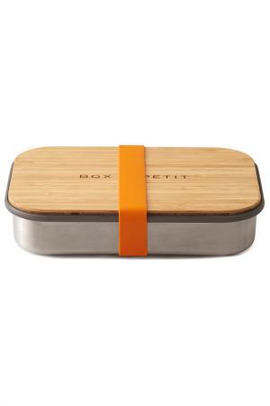 Сэндвич-бокс Black+Blum. Цвет: металлик, оранжевый