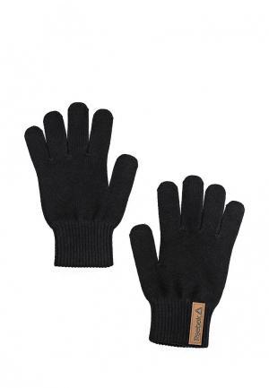 Перчатки Reebok. Цвет: черный