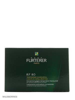 Комплекс от выпадения волос Rf 80 atp energie, 12 ампул Rene Furterer. Цвет: прозрачный