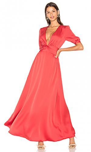 Платье thompkins Privacy Please. Цвет: красный