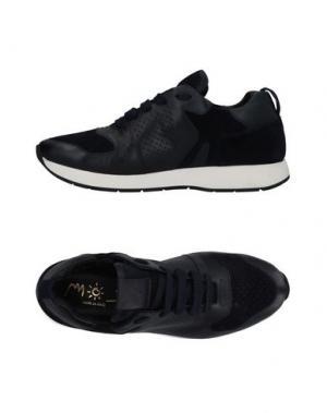 Низкие кеды и кроссовки MOS. Цвет: темно-синий
