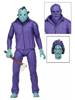 Фигурка Friday the 13th - 7 Scale Figure Jason Neca. Цвет: морская волна, белый, светло-коричневый, темно-фиолетовый