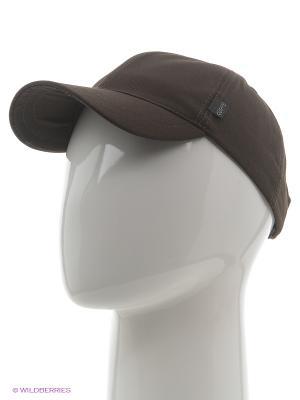 Бейсболка PILOT HEADWEAR COLLECTION. Цвет: коричневый